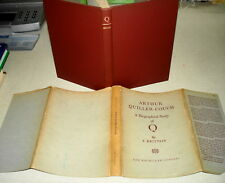 1948 Arthur Quiller-Couch: A BIOGRAPHICAL STUDY OF Q F Brittain HBDJ NR