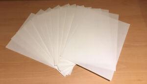 12 PREMIUM A4 sheets white sweetvanilla flavour edible wafer / rice paper CARD