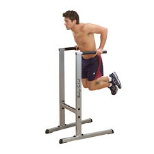 Body-Solid Dipping Station - Knee Raise Dip Gym Machine