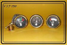 IH / Farmall Oil Pressure Gauge +Temp+ Ammeter for A , B, Super A, A1, Super C