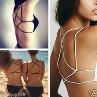 Fashion Women Cut-Out Bra Bralette Bustier Corset Vest Crop Tops Blouse Tank Top