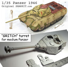 "1/35 PANZER 46 ""GRITCH"" turret for medium Panzer"