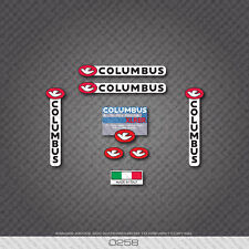 0258 Columbus XLR8R Bicycle Frame Sticker - Decal