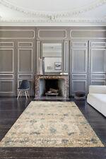 Versace Rug Cream Blue French Modern Designer Thick Floor Rug 240x330 cm