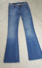 Citizens of Humanity Ingrid #002 Low Waist Flare Jeans Denim 24