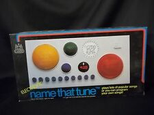 VINTAGE 1980 ELECTRONIC NAME THAT TUNE NIB MIB NEVER OPENED CASTLE TOY
