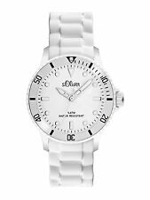 S.Oliver Women's Watch Wristwatch Silicone Bracelet so 2291 PQ White Colors