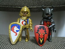 Playmobil - Blister 5815 - Medieval Caballeros Dragon Rojo Unicornio -(COMPLETO)