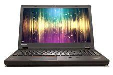 "Lenovo ThinkPad W541 15.6"" Intel i7 8GB RAM 240GB SSD WiFi Win 10 B Grade Laptop"