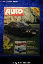 Auto Zeitung 4/76 BMW 630 CS 633 CSi Fiat 131 Alfa Guilia Super