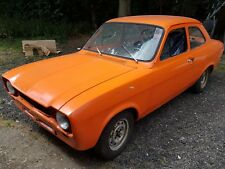 1974 Ford Escort mk1. GCAT shell,  + loads of parts. mark1. Vista Orange