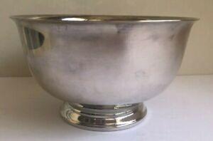 "International Silver Co Bicentennial Bowl 1776-1976 Silver Plated VGUC 4"" Tall 7"