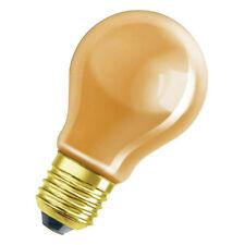 Sockel E27 Orangene Glühbirne Farbleuchtmittel A19 230V 40W orange
