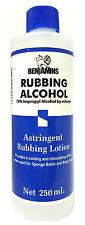 BENJAMINS RUBBING ALCOHOL  70% ISOPROPYL  ALCOHOL 250 ml