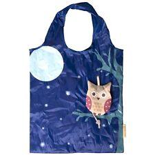 Sass & Belle Foldable Reusable Eco Friendly Shopping Bag Animal Owl