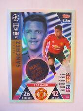 Champions League 2018/19 MOTM card - Alexis Sanchez of Manchester United