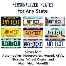 License Plates Automobilia Personalized Custom New York State License Plate Any Name Novelty Auto Car Tag