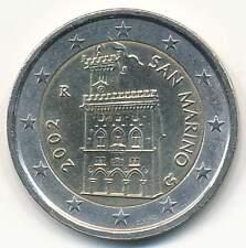 +++ 2 Euro Kursmünze San Marino 2002 - der erste Jahrgang - selten +++