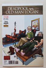 DEADPOOL vs OLD MAN LOGAN #1 STAN LEE BOX VARIANT Marvel Legacy Avengers NM-MT