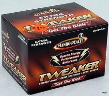 Tweaker Mango Peach Extra Strength 12 ct Extreme Energy Shots 2.0 oz Free Ship