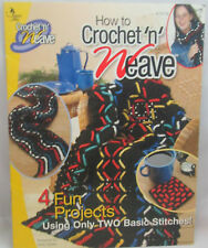 Annie's Attic How to Crochet 'n' Weave  Crochet Pattern - Afghan, Scarf +