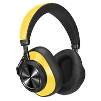 Bluedio T7 Bluetooth ANC Headphone Wireless Headset with face recognition Yellow