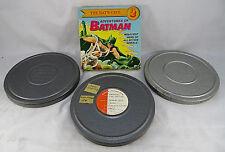 Lot 3 Films & Adventures of Batman The Bats Cave Episode 2 Super 8 MM Home Movie