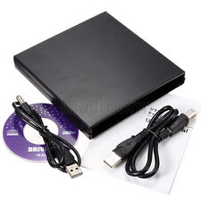 USB IDE Notebook CD DVD RW Burner ROM Drive External Case Enclosure Drives