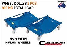Wheel Dolly 2 Pcs NYLON WHEEL Vehicle Positioning Jack 900kg Car Dollies Mover