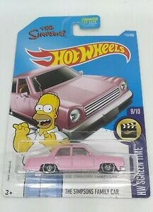 Mattel Hot Wheels The Simpsons Family Car HW Screen Time 112/365 9/10