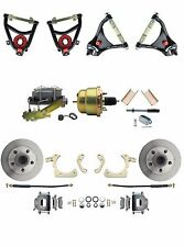 GM 1955-57 Standard Power Disc Brake Conversion Kit & Control Arm Package