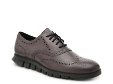 Cole Haan Zerogrand Wingtip Oxford Burnished Leather Dress Casual