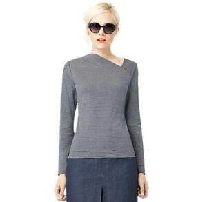 Kate Spade Saturday Slant Neck Top New Size Medium