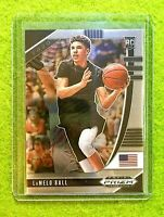 LAMELO BALL PRIZM ROOKIE CARD JERSEY #1 CHARLOTTE HORNETS RC - 2020 Panini Prizm