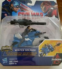 Marvel Captain America: WINTER SOLIDER action figure motorcycle Civil War  NEW