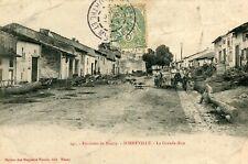 Carte SORNEVILLE La Grande Rue