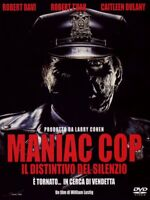 MANIAC COP - Il distintivo del silenzio (DVD - WIlliam Lustig) Audio ITA - Nuovo