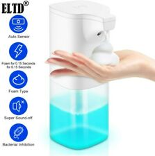 Automatic Soap Dispenser Hands-Free IR Sensor Touchless  Mute Electric Foam Type
