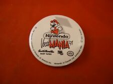 Nintendo Vocal Mania '91 1991 Mario NES BASF Tapes Promotional Button Pin Promo