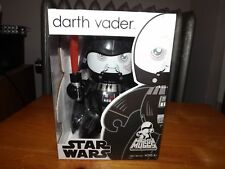 """MIGHTY MUGGS, STAR WARS, DARTH VADER UNMASKED, 6"""" FIGURE, NEW IN BOX, 2008"""