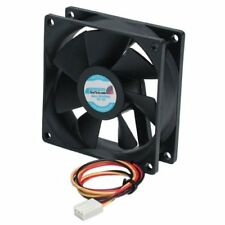 Startech.com Fan8x25tx3l 80mm Quiet Long Life Ball Bearing Pc Case Fan 3pin