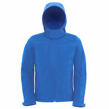 Mens Hooded Softshell Performance Jacket Full Zip with Balaclava Hoodie