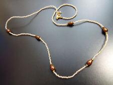 Modeschmuck-Halsketten & -Anhänger im Collier-Stil mit Perlmutt-Hauptstein für Damen
