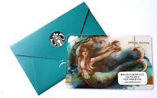 Starbucks Korea 2016 Siren Special Edition Card with Matching sleeve