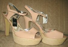 Next dusky pink party high heel shoes size 7