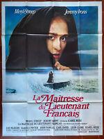 Plakat La Maitresse Du Lieutenant Francais - Karel Reisz Meryl Streep 120x160cm