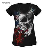 ALCHEMY England Goth Punk Grunge BOMBAY Buzz Cut Skull Top All Sizes