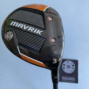 Callaway Mavrik No 3 Fairway with Aldila Rogue White 70g Stiff Flex Shaft