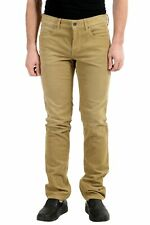 "Hugo Boss ""Orange36"" Brown Corduroy Straight Leg Men's Jeans Sz 33/34"