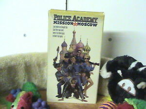 Police Academy Mission to Moscow - VHS